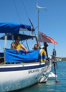 Beth and Bone aboard SPLINTERS APPRENTICE