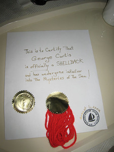George's certificate