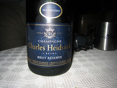 George & Penelope carried this fine champagne all the way from London. It was well worth the effort as we have not tasted this quality of bubbly for some time. Treat!