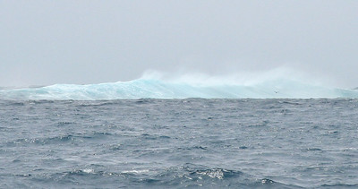 This is a close-up of the seas that were breaking on the reef as we navigated through Boulari Pass.