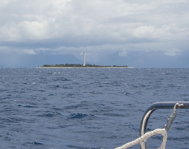 We left Amadee Lighthouse astern and entered the South Pacific Ocean.