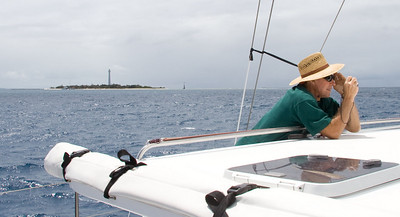 Ian and Amadee Lighthouse as we departed New Caledonia