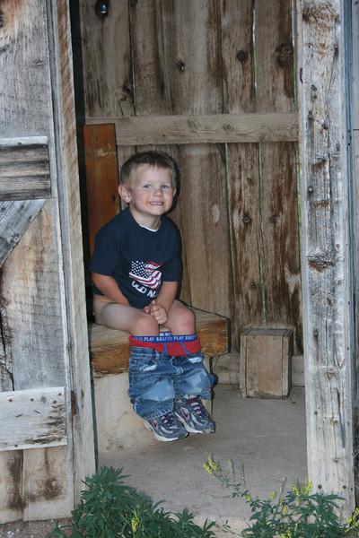 Luke found the Outhouse at Bird's Eye
