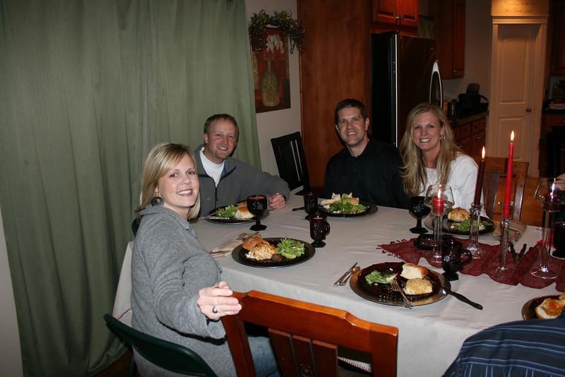 Dinner Group at Our House....Morrills & Franks