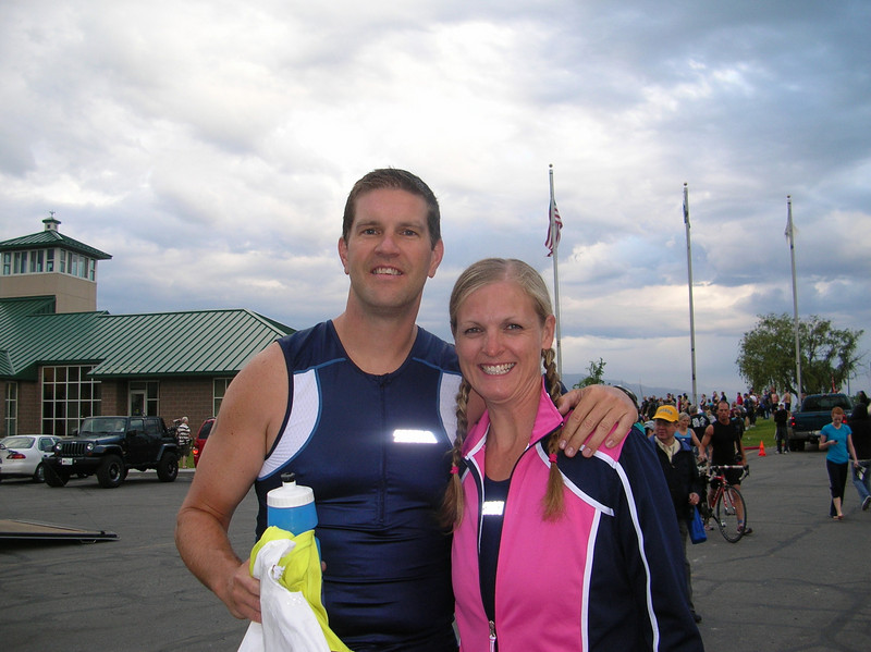 Utah County Sprint Tri-athlon.