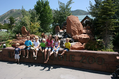 Zoo trip with the Fitzgeralds.
