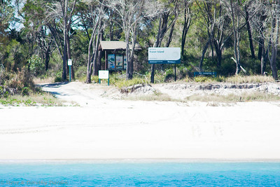Fraser Island is a World Heritage Site.