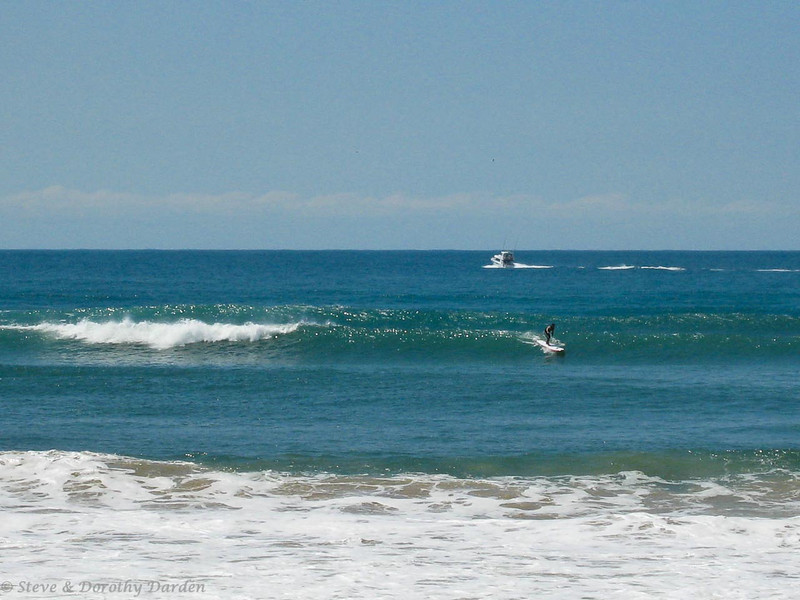 Surf's up at Mooloolaba