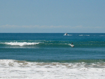 Surf's up at Mooloolaba