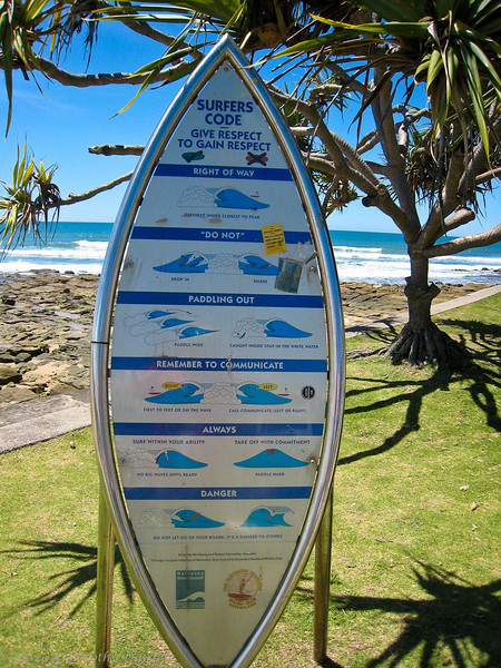Surfers' Code