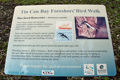 The Bird Walk was well sign-posted to help us identify the birds that we hoped to see.