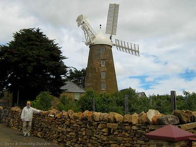 Steve with the Callington Mill