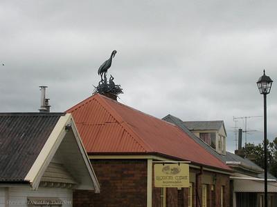 Sculpture in Oatlands