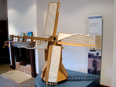 Model of old mill
