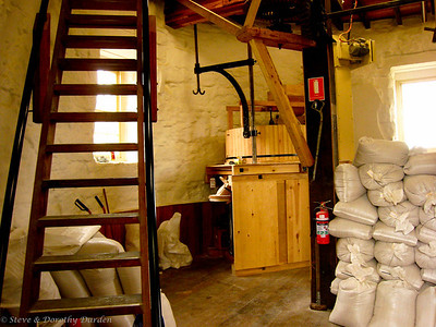 Ground floor of the Callington mill