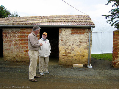 Adrian and Steve at the Callington Mill