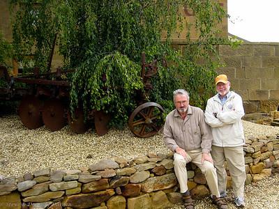 Adrian and Steve in Oatland