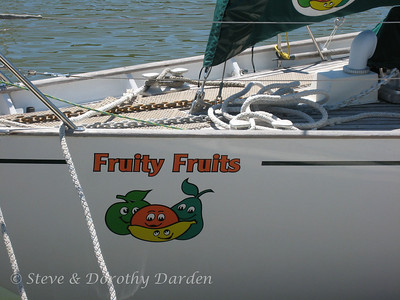 FRUITY FRUITS is named after the owners and their two children, each of whom was a type of fruit.