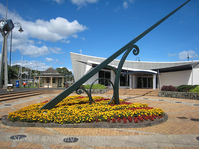 Sundial at the Clock Museum