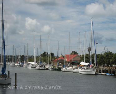 ADAGIO berthed in the Whangarei Town Basin Marina