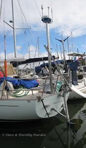 Our British friend David's boat SHANDON