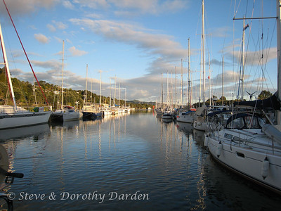 We had the best view of the sunset at Whangarei Town Basin. View from ADAGIO