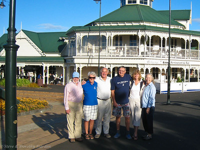 Steve, Ulla, Andy, Mats, Liza and Dorothy in Whangarei