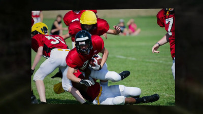 2012 CVHS Freshman Football Intersquad Scrimmage