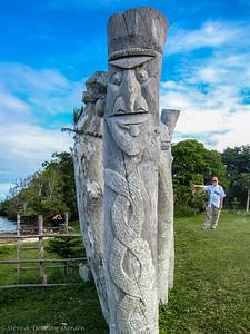 Steve at Saint-Maurice Bay