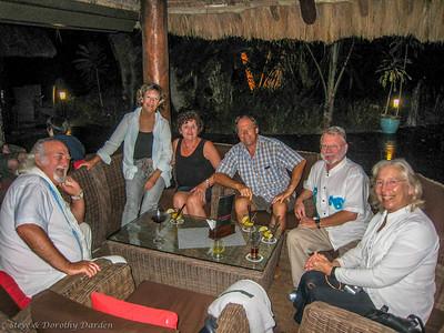 Albert, Cleo, Ellen, Ian, Steve and Dorothy at Oure Resort
