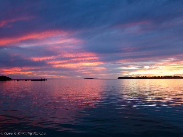 Kuto Sunrises, Sunsets