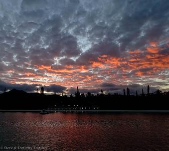 Baie de Kuto sunrise