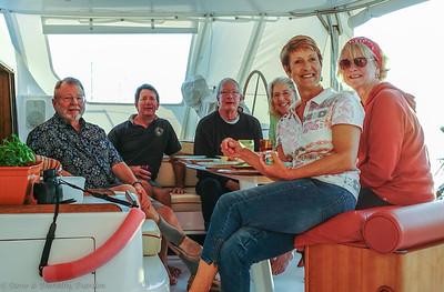 Sundowners aboard MANGO MOON