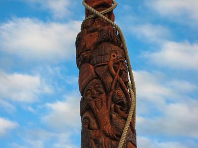 Sculpture at Xepenehe, Island of Lifou