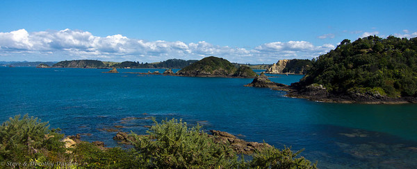 Passage into Te Pahi Islands