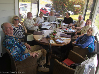 Steve celebrated his 70th birthday party at the Pear Tree on the Kerikeri River.