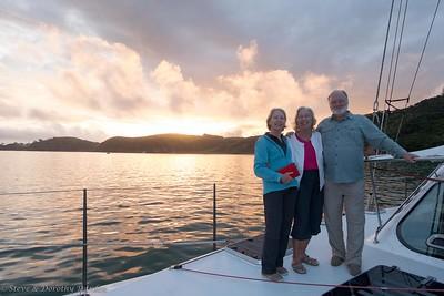 Another sunset aboard ADAGIO