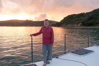 Steve at sunset