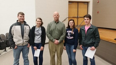 Scott Desjarlais with 9th grade History Students
