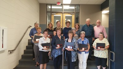 Retiring Franklin Co teachers