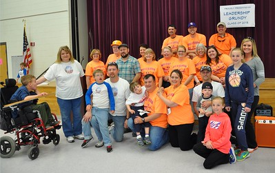 Leadership Grundy Class of 2015 and Miracle League of Grundy County