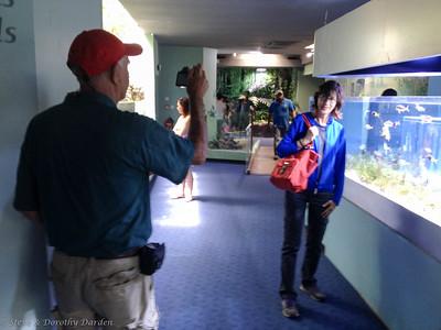 Joe and Kathy at the Aquariium