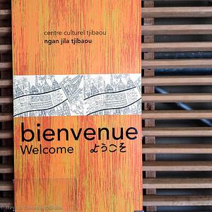 Entrance to Tjibaou Cultural Centre