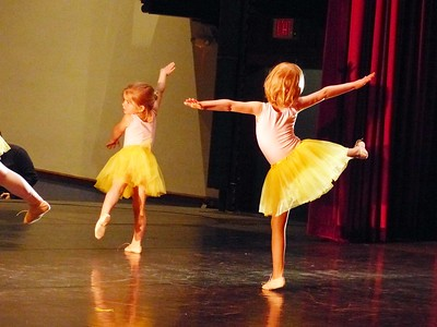 Young dancers perform at the Sewanee Dance Conservatory recital.
