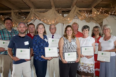 South Cumberland Community Fund (SCCF) made grant awards to representatives of 11area nonprofit agencies at a ceremony on July31.