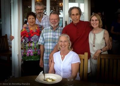 Dorothy's 74th birthday at Duke of Marlborough