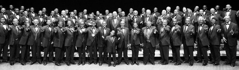 100 Men in Black Male Chorus