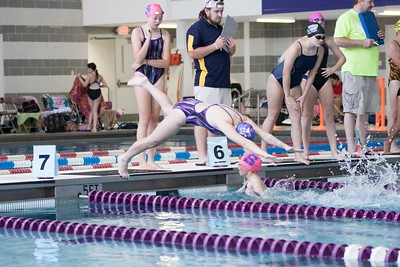 TigerSharks in action during the relays