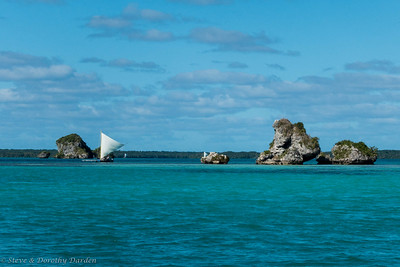 Baie de Upi is a special Kunie area where only their piroques may sail.