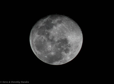 Remarkable four days of Nouméa full moon.